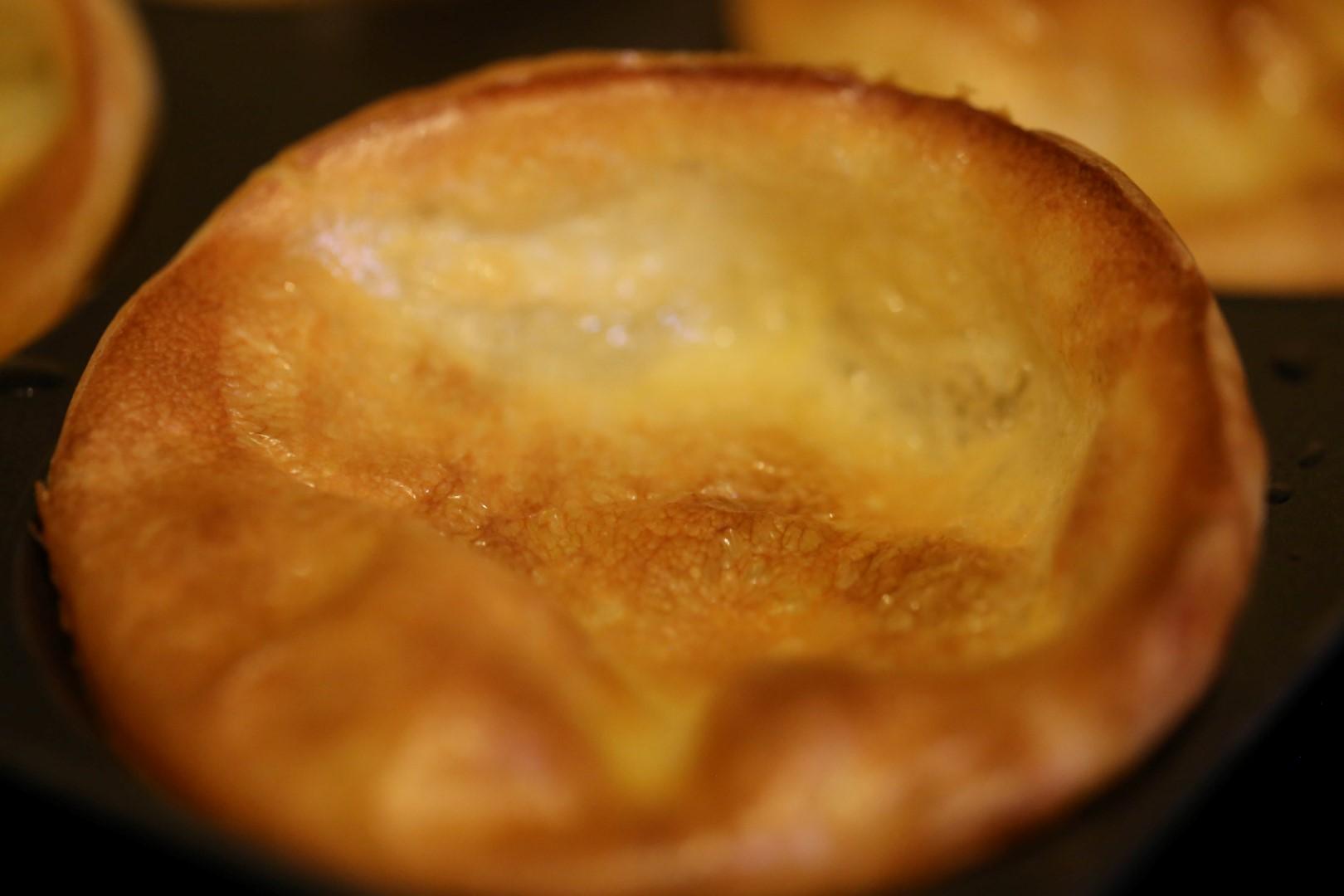 """Un """"grand"""" classique Anglais : le Yorkshire pudding!"""
