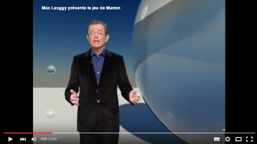 Mac Lesggy présente le jeu de Marion