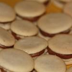 photo des macarons au chocolat