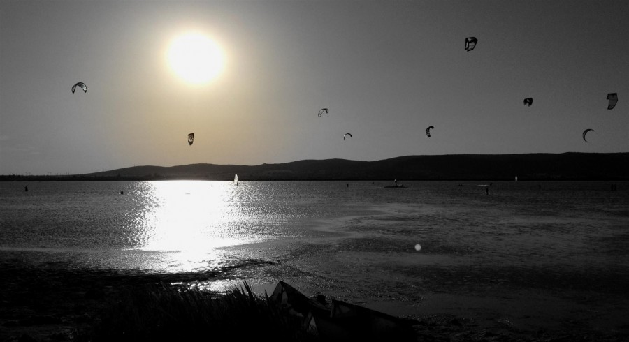 kitesurf a frontignan plage
