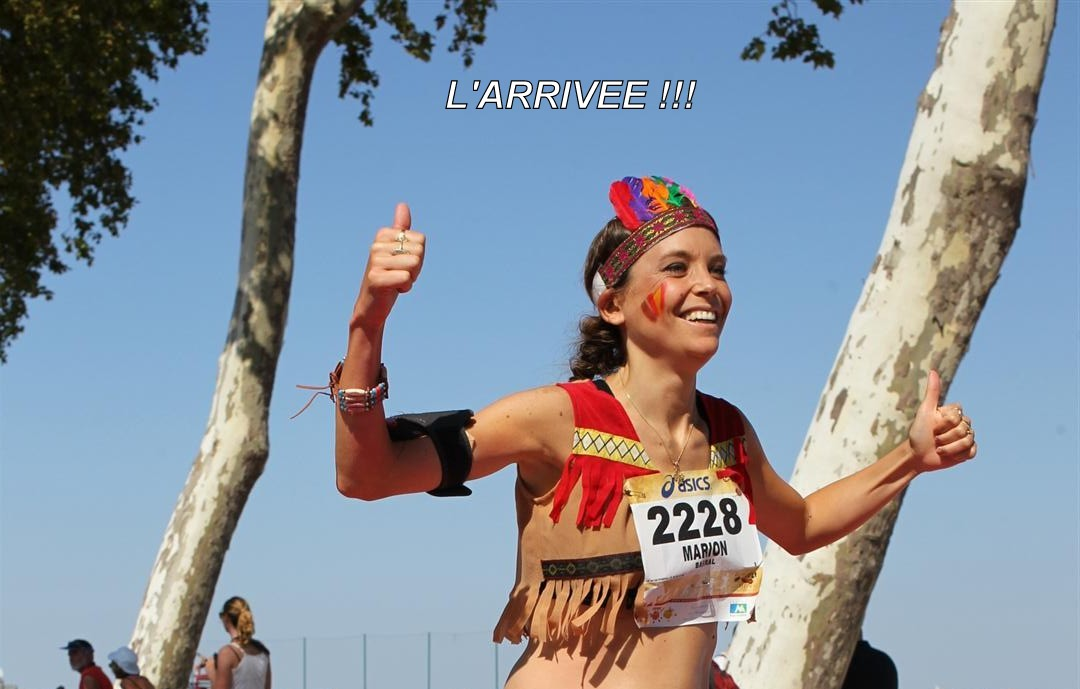 My first marathon : The Médoc Wine Marathon
