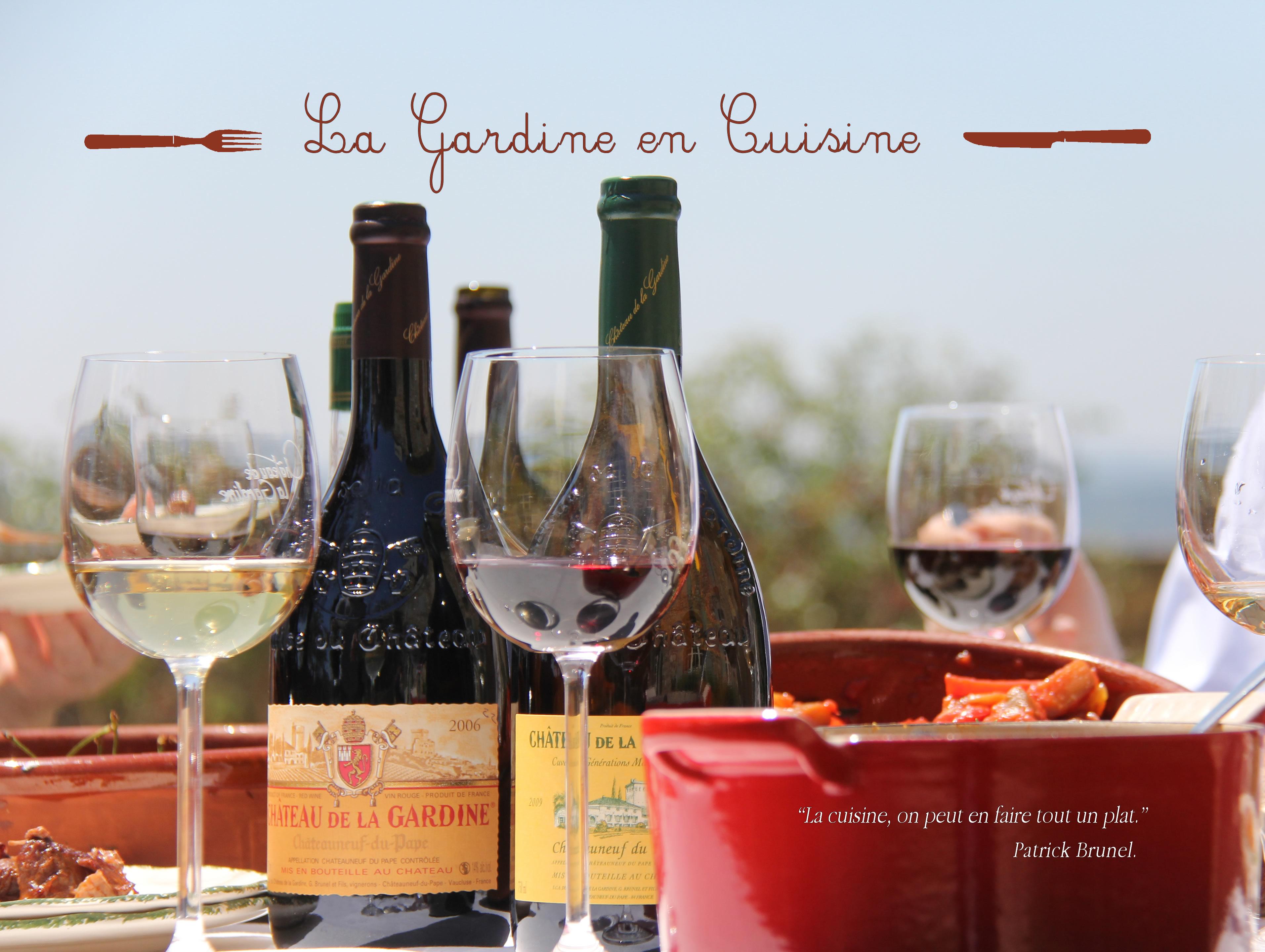 Livre de recettes La Gardine en cuisine