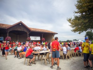 village gourmand marathon du médoc
