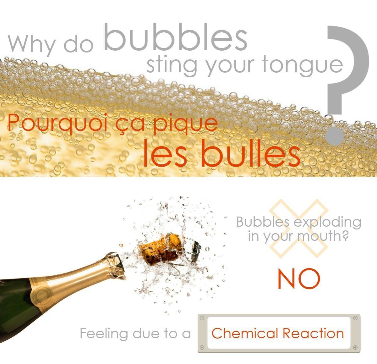 why does bubbles sting your tongue? pourquoi ça pique les bulles ?