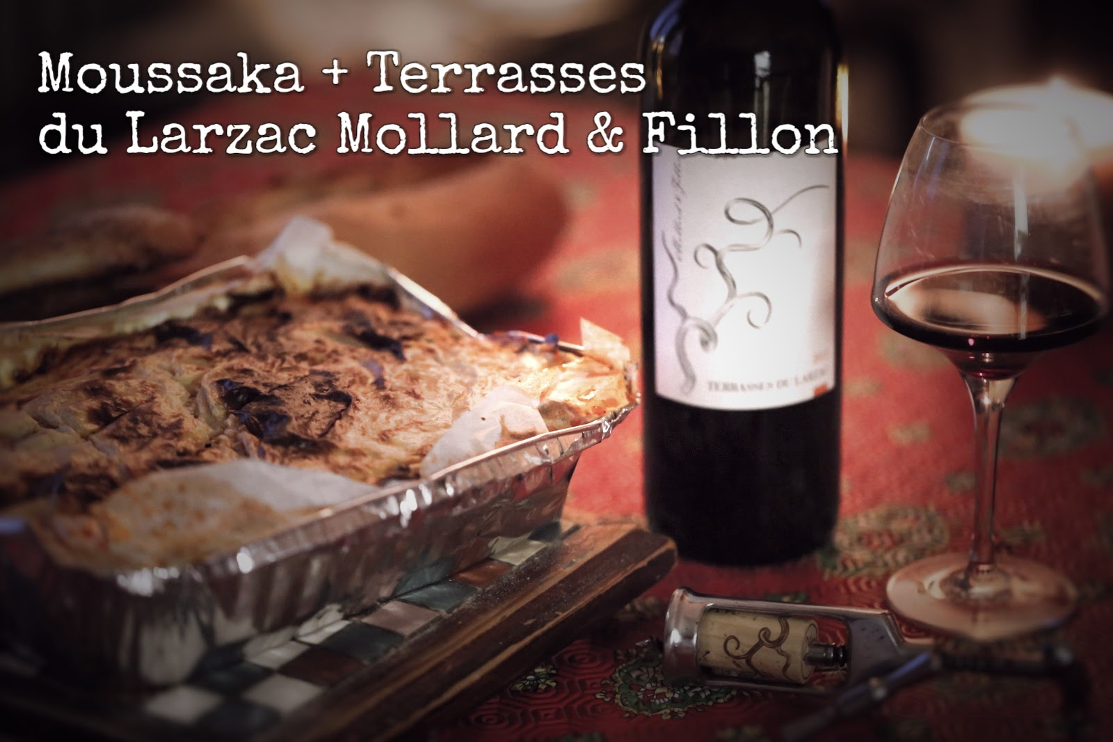 accord moussaka terrasses du larzac mollard et fillon