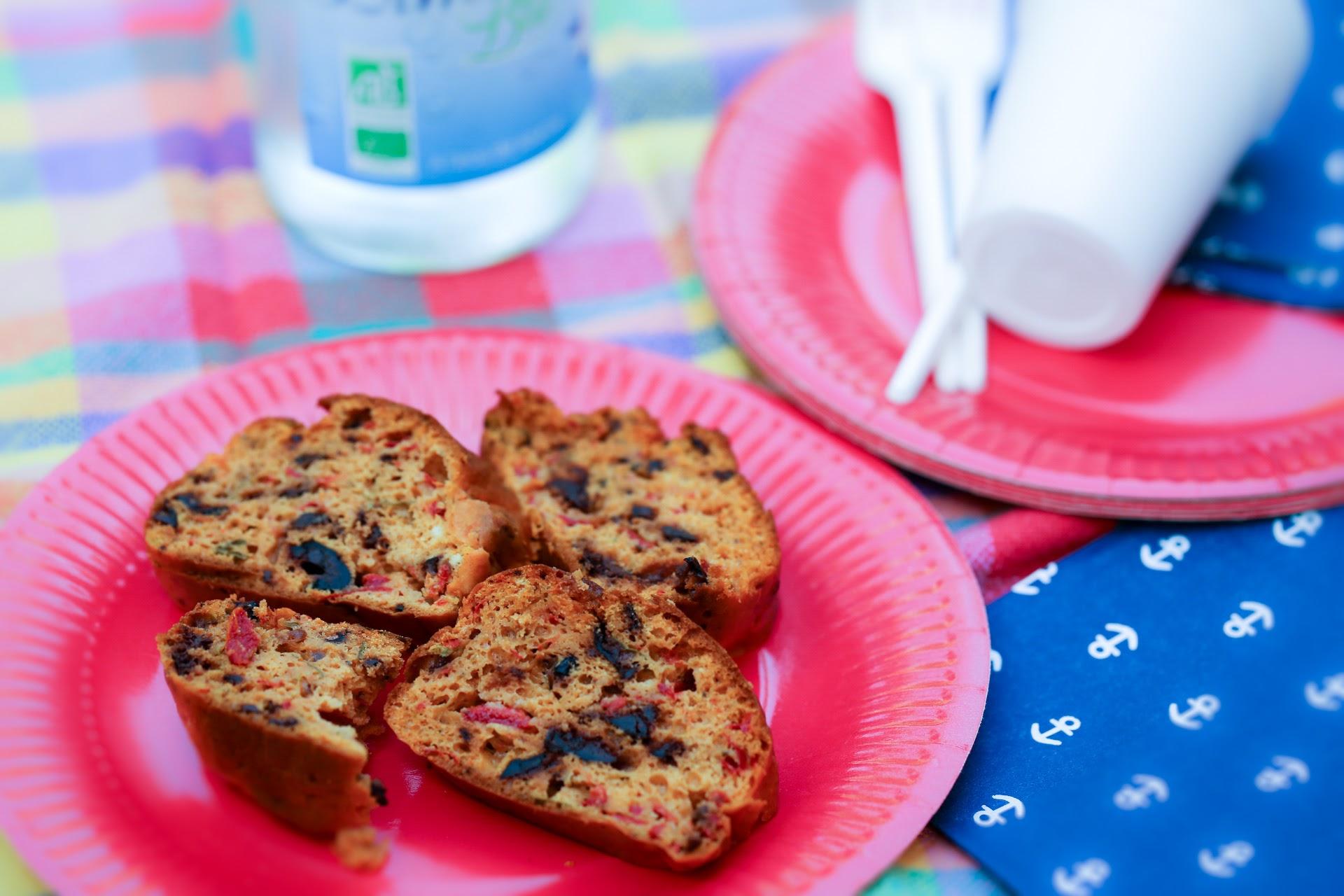 cake picnic poivrons olives