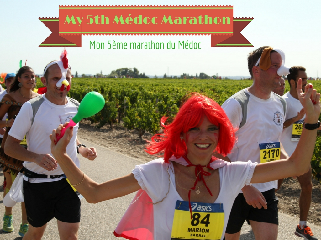 my 5th medoc marathon marion barral