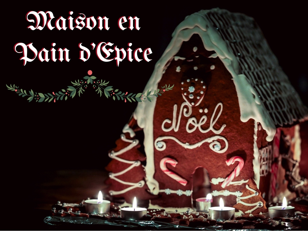maison pain d epice gingerbread house